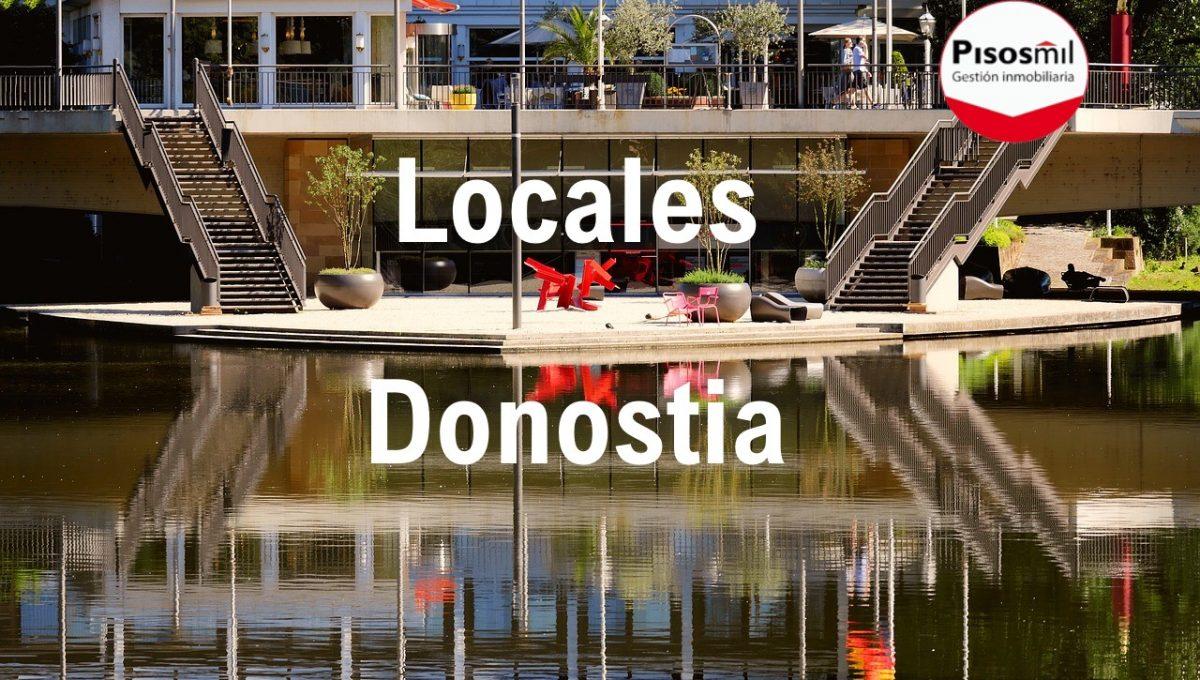 Locales Donostia - San Sebastián Pisos Mil Logo