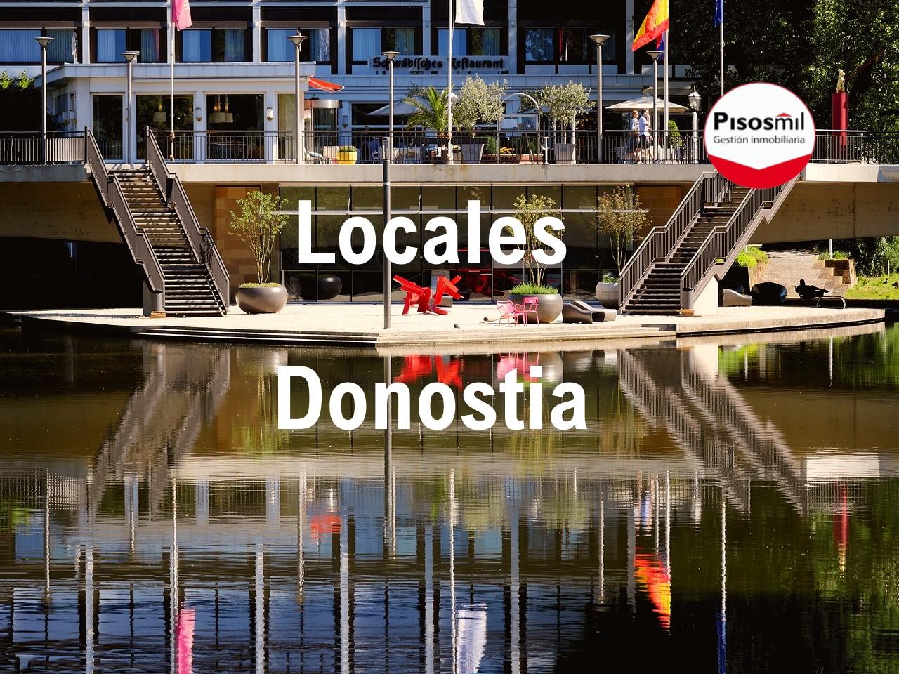 Local Comercial en Alquiler en Donostia – San Sebastián Amara