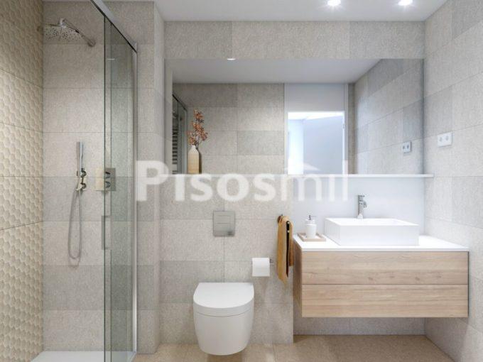 Obra Nueva Poblenou baño ducha