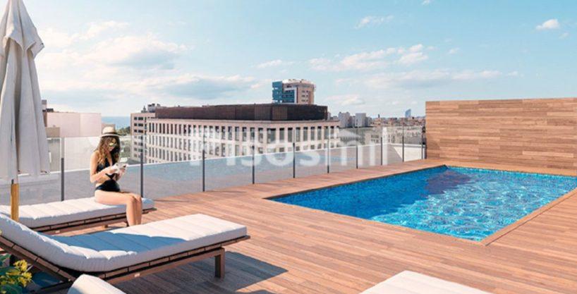 Obra Nueva Poblenou piscina