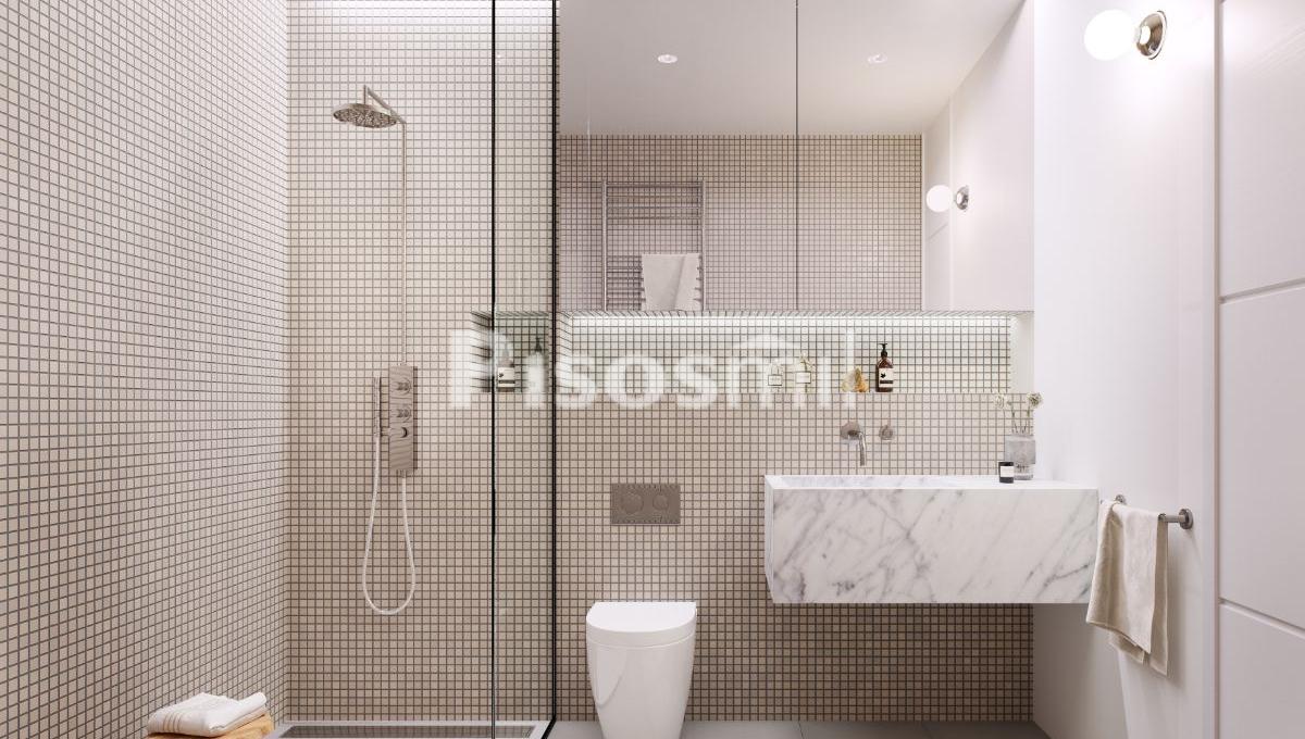 Obra Nueva Barcelona Poble Sec baño