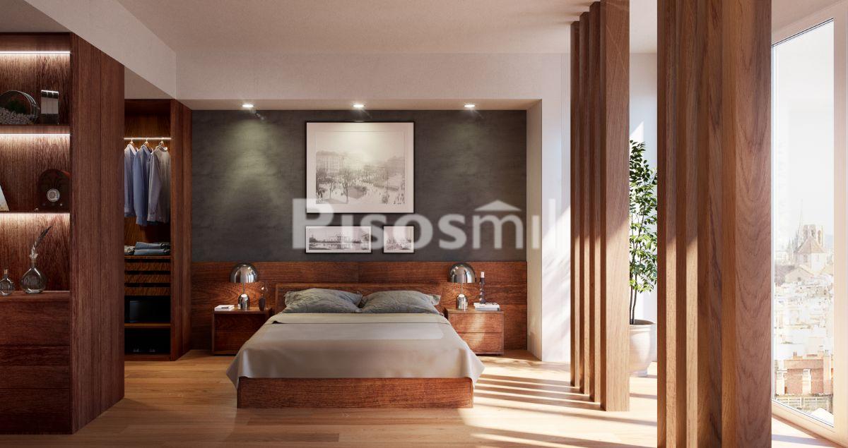 Obra Nueva Barcelona Poble Sec_dormitorio