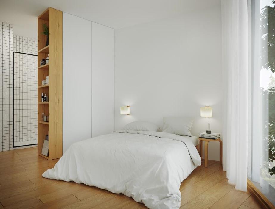 Pisos Venta Barcelona Sarria Sant Gervasi Dormitorio apartamento 1