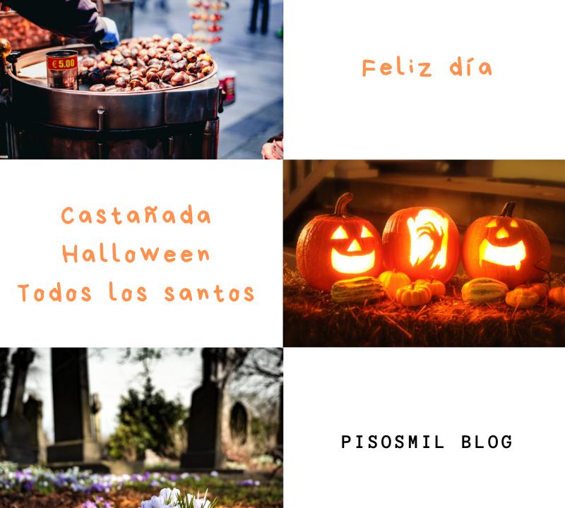 Castañada Halloween Todos los Santos Pisosmil Inmobiliaria