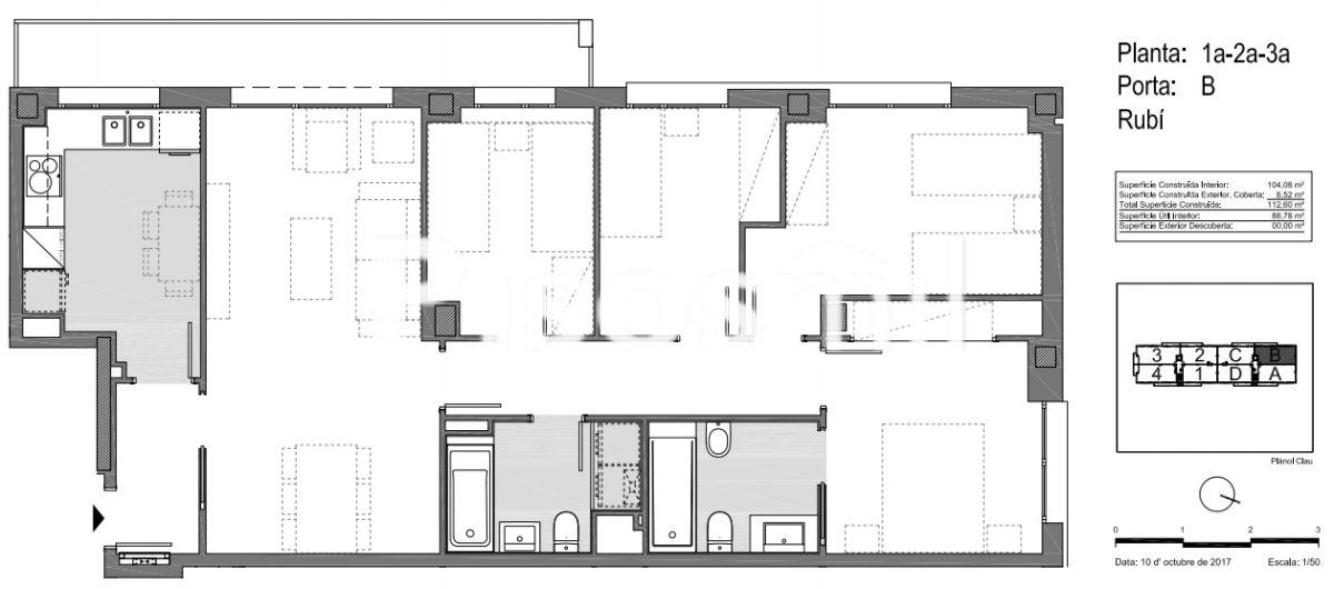1º B - Esc B ¡Último piso a la venta!