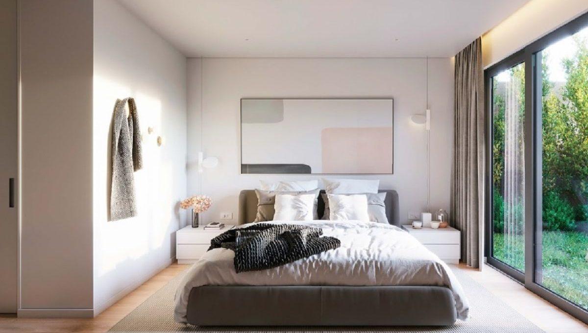 Dormitorio Obra Nueva Barcelona Eixample Dreta