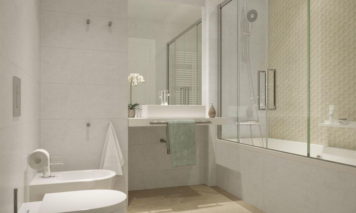 Obra Nueva Les Corts Baño bañera