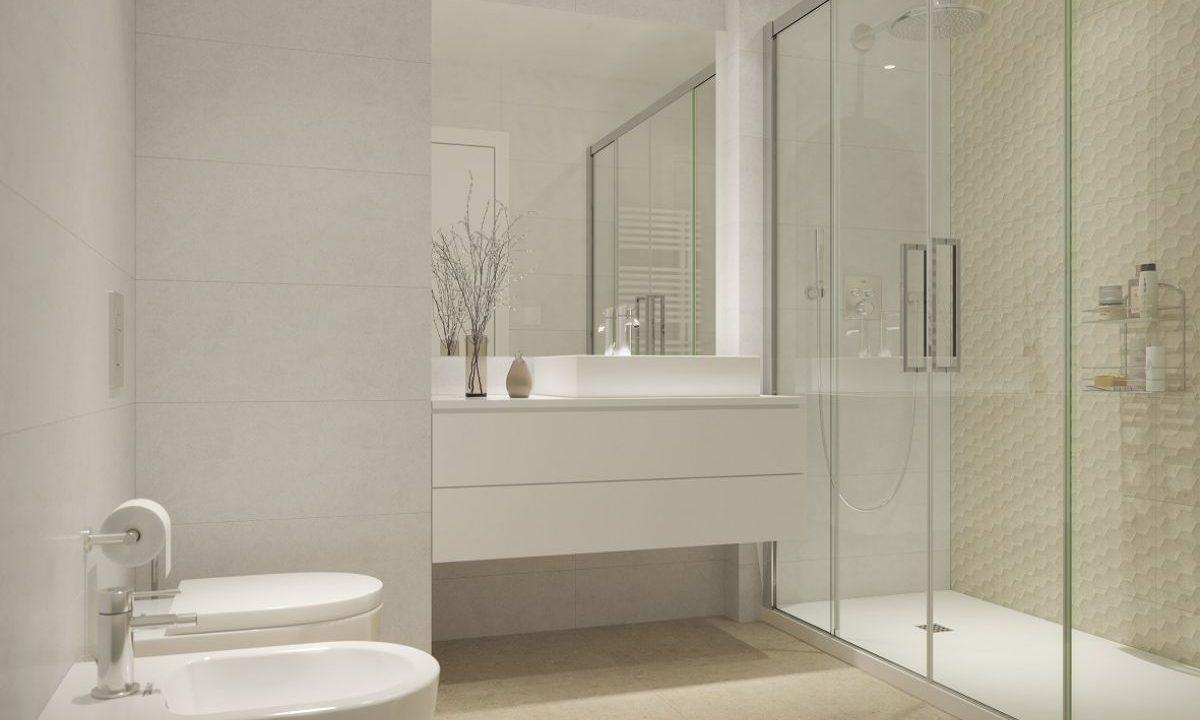 Obra Nueva Les Corts Baño ducha
