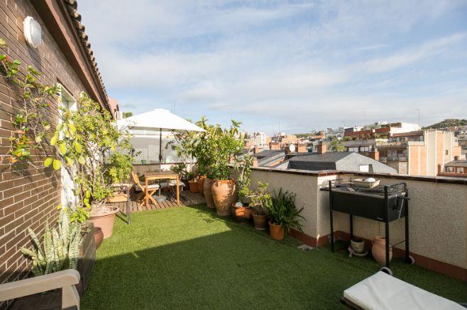 Atico duplex venta Barcelona El Putxet (1)