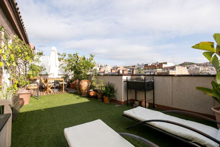 Atico duplex venta Barcelona El Putxet (6)