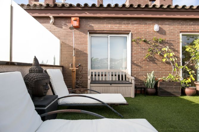 Atico duplex venta Barcelona El Putxet (8)