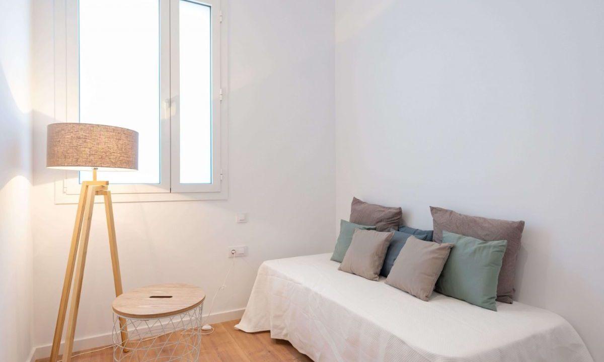 Obra Nueva Barcelona El Putxet habitación