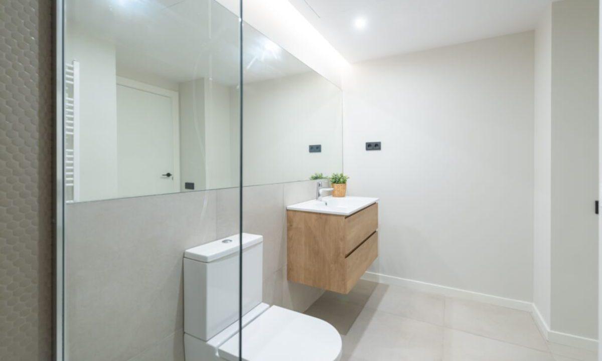 Obra Nueva Barcelona Galvany baño