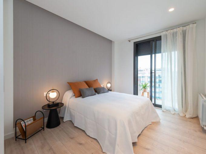 Obra Nueva Poblenou Dormitorio